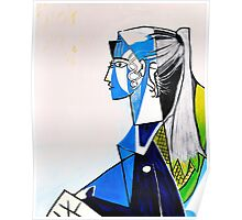 Sylvette - Tribute to Pablo Picasso Poster