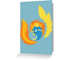 Wonderbolts - Spitfire (Uniform) Greeting Card