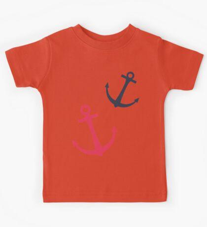 Anchors aweigh Kids Tee