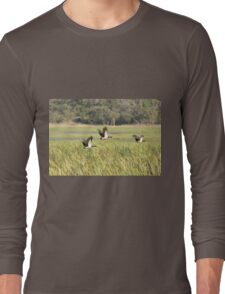 Magpie Geese Long Sleeve T-Shirt