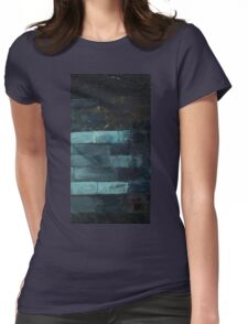 Abstract Bricks Womens Fitted T-Shirt