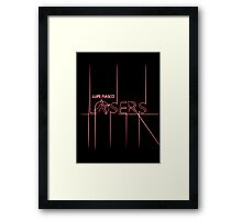 The Lasers Framed Print
