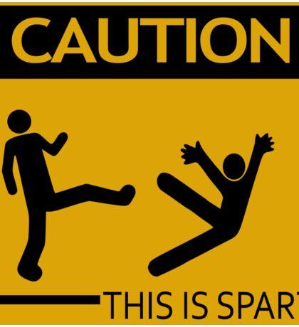 This Is Sparta! Sticker