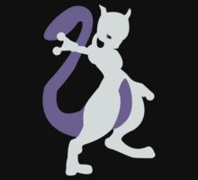 Smashing Mewtwo Vector Kids Clothes