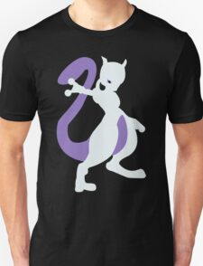 Smashing Mewtwo Vector T-Shirt