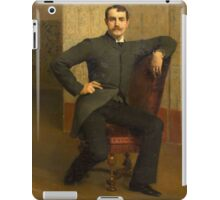 Emile Levy(French, 1826-1890)Portrait of Stephen Parker iPad Case/Skin