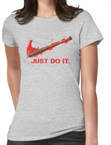 Negan - Just Do It Womens Fitted T-Shirt