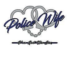 Police Wife Photographic Print
