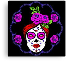 Day of the dead perfection Canvas Print
