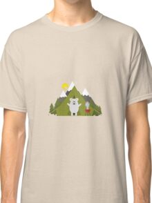 Polar Bear Camping Classic T-Shirt