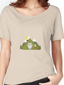 Polar Bear Camping Women's Relaxed Fit T-Shirt