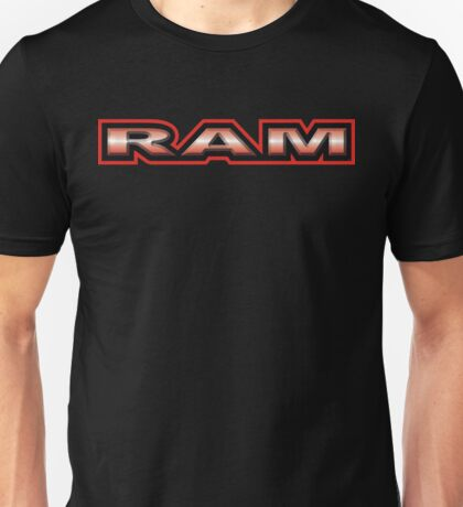 RAM - Red Unisex T-Shirt
