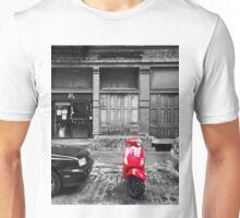 Red Vespa Unisex T-Shirt
