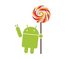 Android Lollipop Photographic Print