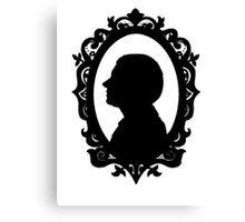 John Watson Silhouette  Canvas Print
