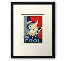 Soul Eater / Excalibur / Fool! Framed Print