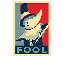 Soul Eater / Excalibur / Fool! Photographic Print