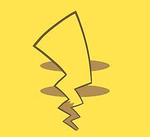 Pikachu Tail by seatha