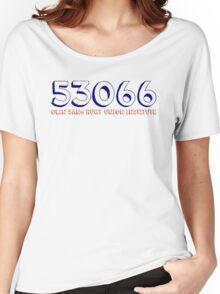 OSRUI Zip Code Women's Relaxed Fit T-Shirt