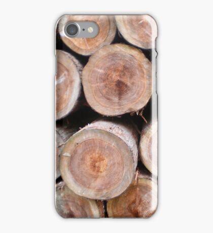 Logs #1 iPhone Case/Skin