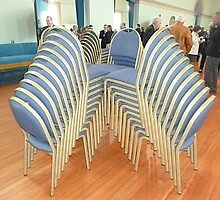 Take a seat? Great Hall Government House Melb. Vic. by EdsMum