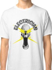 Electrician Skull Classic T-Shirt