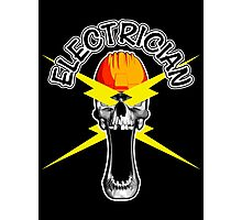 Skull Electrician Photographic Print