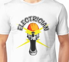 Skull Electrician Unisex T-Shirt