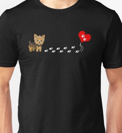 The Path To My Heart - Yorkie T Shirt Unisex T-Shirt