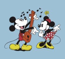 Mickey <3 Minnie by AkumaKuma