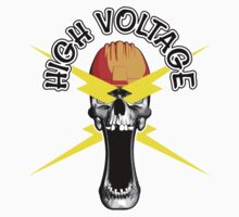 Skull Electrician: High Voltage by dxf1969