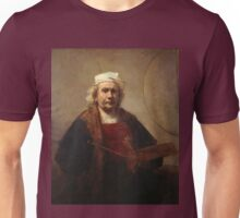 Rembrandt Self-Portrait with Two Circles Unisex T-Shirt