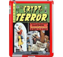 TERROR HORROR COMICS COVER RETRO WEREWOLF iPad Case/Skin