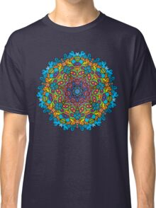 Psychedelic jungle kaleidoscope ornament 33 Classic T-Shirt