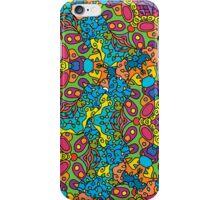 Psychedelic jungle kaleidoscope ornament 34 iPhone Case/Skin
