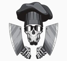 Chef Skull: Butcher Knives 3 by dxf1969