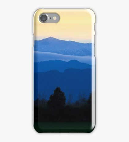 Mountains of Styria iPhone Case/Skin