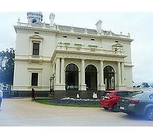 *Entrance to Government House Melbourne Vic. Australia* Photographic Print