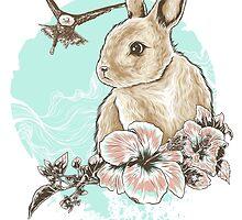 Run Rabbit Run by eggzoo