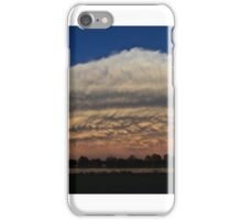 West Texas Distant Storm with Mammatus  iPhone Case/Skin