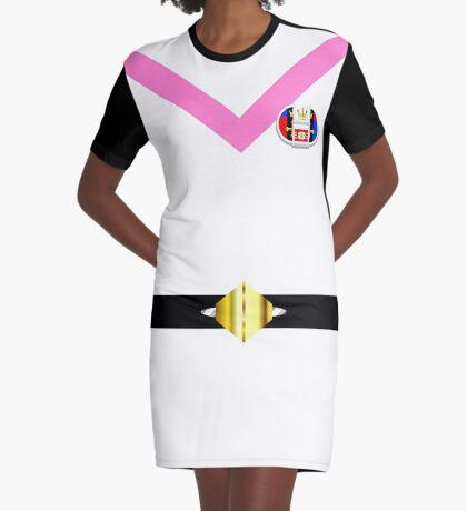 Voltron Pink Uniform Graphic T-Shirt Dress
