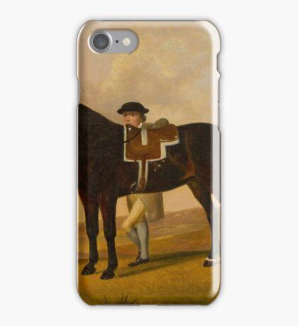 Francis Stringer(British, 18th century) Crab, the Property of J. Thakeray iPhone Case/Skin