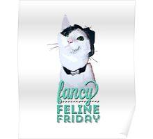 Fancy Feline Friday Poster