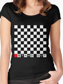 Stand Out Women's Fitted Scoop T-Shirt