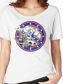 Ghostbusters of Hazzard - Franchise Logo Women's Relaxed Fit T-Shirt