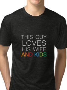 THIS GUY inverse Tri-blend T-Shirt