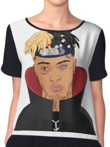FREE XXXTENTACION SKI MASK THE SLUMP GOD Chiffon Top