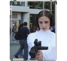 princess leia carry fisher iPad Case/Skin