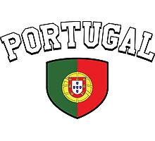 Portugal Supporters Photographic Print