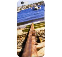 Train Tracks Bright | Greenwich Baths iPhone Case/Skin